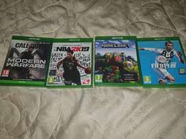 EXTREMELY NEGOTIABLE Xbox one games