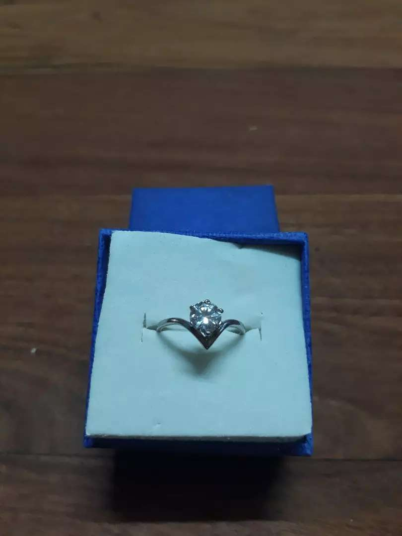 Silver wishbone ring-URGENT SALE 0