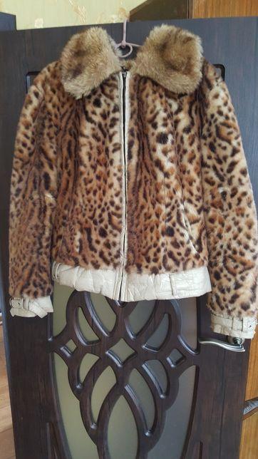 Леопардовая шубка/или обмен Запорожье - изображение 1