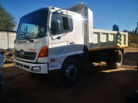 2012 Hino 1324 Six Cube Tipper for Sale.