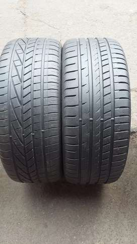 2 × 245/40/20 runflat Goodyear tyres for sale