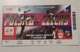 Bilet - Polska Czechy - MŚ - 2010 - Mistrzostwa Świata - Kolekcja