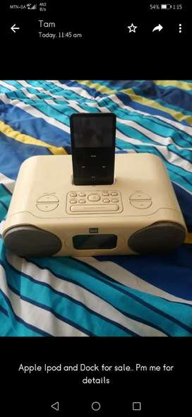Ipod and deck