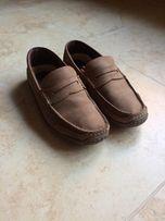 Мужские мокасины кожаные Camal Activ туфли