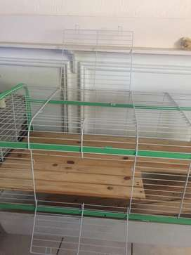 Pet Cage and Heat Mat