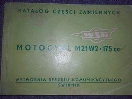 WSK 175 oryginalny katalog części