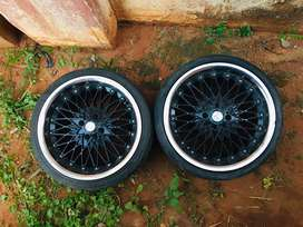 Two 17 inch rims for sale