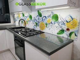Panele szklane szkło z grafiką grafika na szkle z pomiarem i montażem
