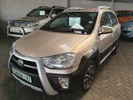 ^2015 Toyota Etios Cross 1.5Xi-Spotless condition-Only R149900