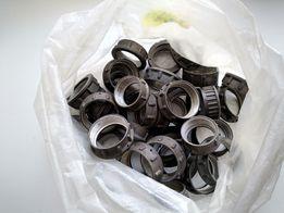 Гайки и хвостовые патрубки на разъёмы ШР32,40,55