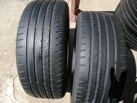 205/55/16 – x2 tyres avail – Continentals