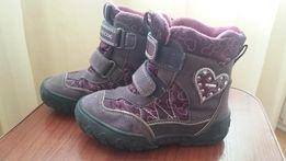 Термо ботинки Geox весна - осень размер 26 для девочки