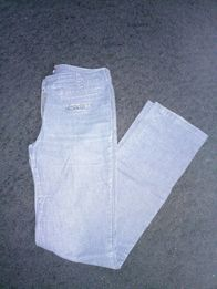 Spodnie dżinsowe brokat S/M