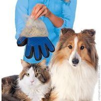 Перчатка (щетка, массажер) для животных