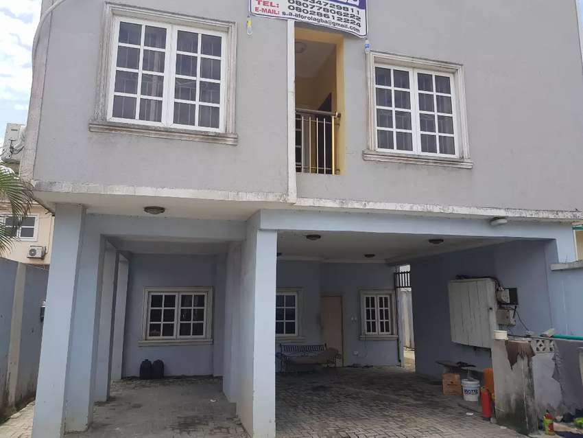 2 storey building comprises of 3 units of 3bedroom flat and  5Bedroom 0