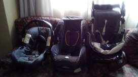 GRACO Pram and Car chair with a car seat