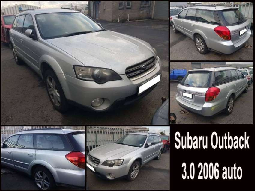 Subaru Outback 3.0 2006 auto stripping for spares. 0