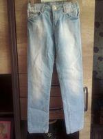 Spodnie, jeansy Zara, jasno niebieskie dla dziewczynki, rozmiar 116
