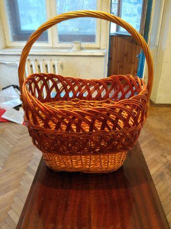 Корзина плетеная 23х33