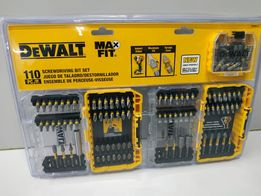 Dewalt MaxFit набор ударных бит 110 шт milwaukee bosch makita irwin