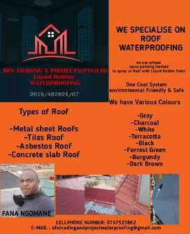 BfN trading and projects liquid rubber waterproofing