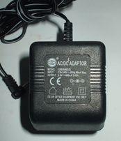 Адаптер AC_DC 3,8Vx1.5a джек 2.1х5.5х9.5 мм.