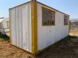 6 meter office container