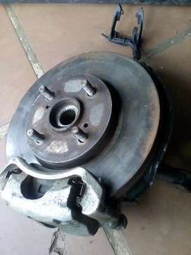 Front wheel hub for toyota etious