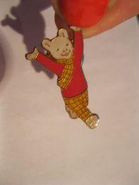 детский значок брошка ведмидь мишка на кнопке мишутка металлический