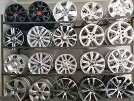 Sets of mag rims with center caps and brand names with different price