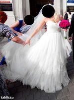 Wyjątkowa suknia ślubna SINCERITY 3723 kolor ivory/kość słoniowa