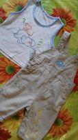 Костюмчик летний комбинезон майка песочник футболк набор комплек шорты