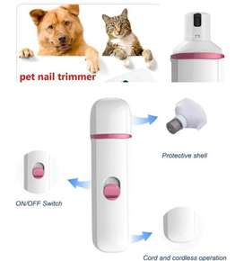 Portable Pet Nail Trimmer Grooming Kit for dogs and cats