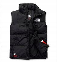 Bezrękawnik North Face , czarny , rozmiar XL