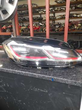 Golf 7 Rline headlights with the xenon machine for sale