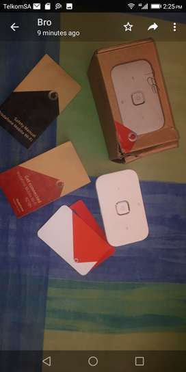 Vodacom mobile wifi/mifi router