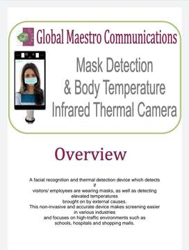 Touch free thermal and optical facial recognition