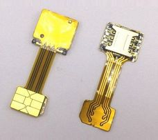 Адаптер-переходник NANO SIM и карты памяти (сим-карт) в гибридный слот