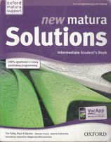 NEW MATURA SOLUTIONS, intermediate, podręcznik+ćwiczenia