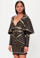 Шикарное платье-кимоно