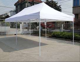 Gazebos heavy duty 3x6m with sides ropes bag pegs waterproof