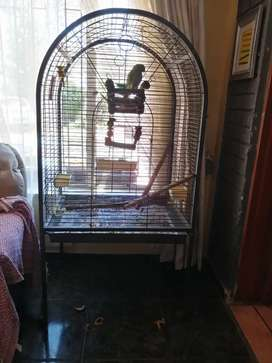 Very big cage for ring nack or African gray for sale top opens R1500