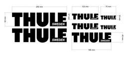 Zestaw naklejek Thule
