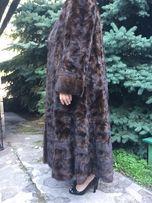 Шуба норковая в пол фирмы zardel furs италия (56-60)