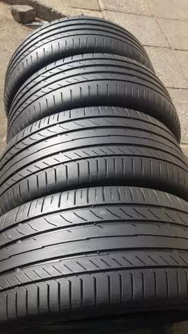 A set of F30 255/40/18 &225/45/18 Continental tyres for sell 80% tread