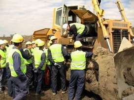 front end loader  and aluminium training school