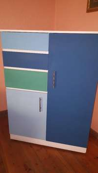 Image of Cupboard Unit / Wardrobe With Draws