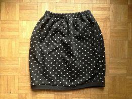 Krótka spódnica w chabry, rozmiar S/M