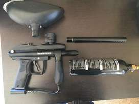 Warrior SPR paintball gun
