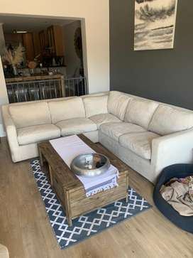 Coricraft L shaped couch